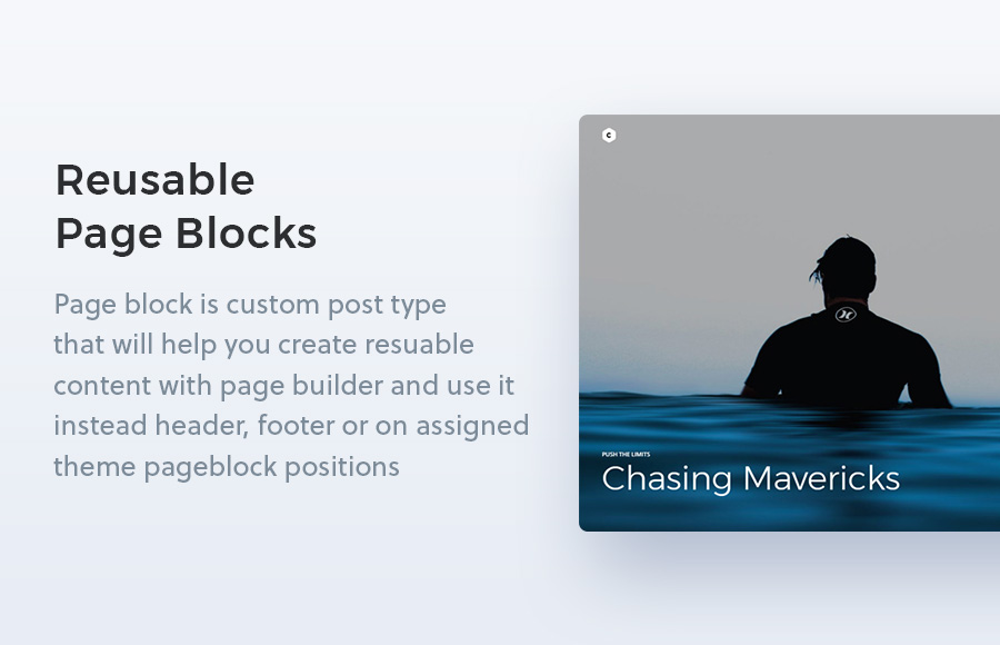 Creatus WordPress Theme Page Blocks Extension